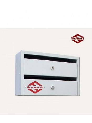 Почтовый ящик для многоквартирных домов Оптима.