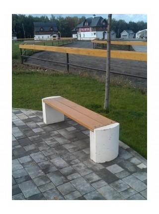 Скамейка бетонная С-3.
